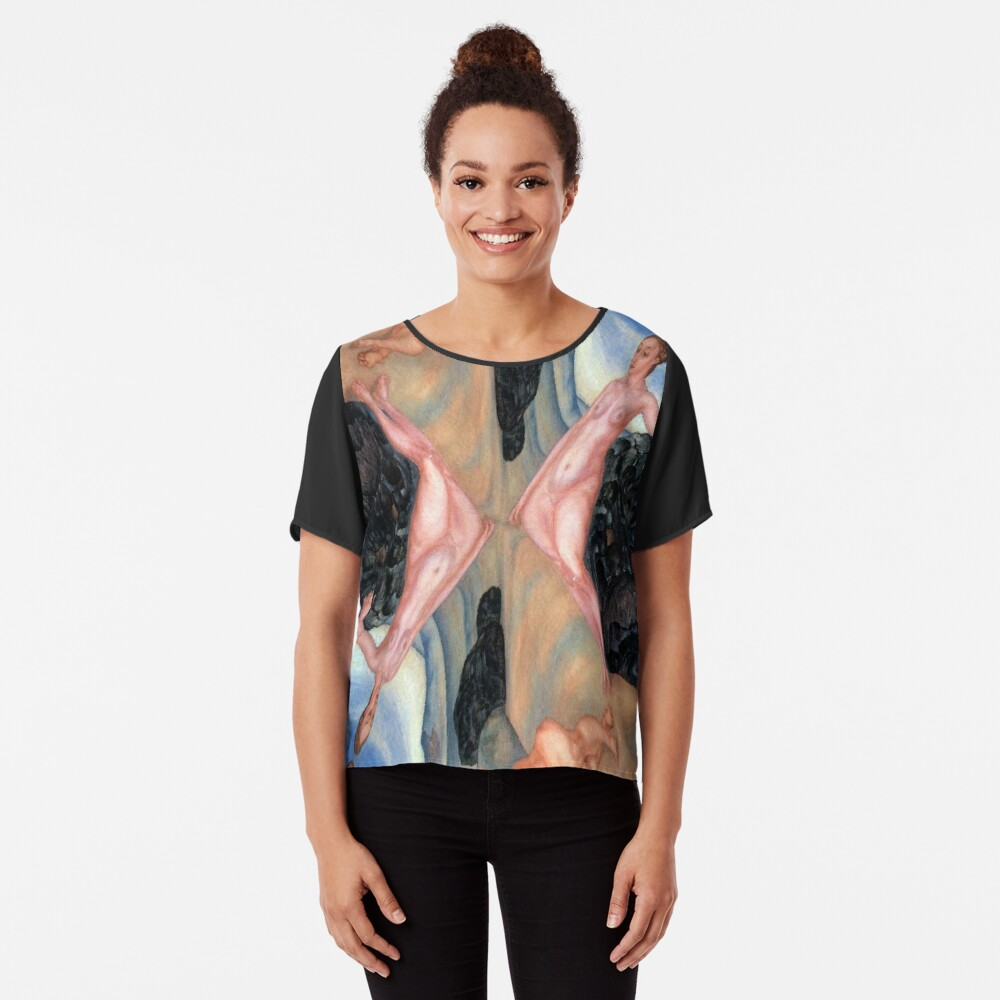Pattern, design, tracery, weave, decoration, motif, marking, ornament, ornamentation, #pattern, #design, #tracery, #weave, #decoration, #motif, #marking, #ornament, #ornamentation Chiffon Top