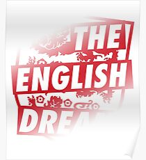 The English Dream WM England | World Cup 2018 Poster