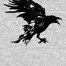 Nevermore Black Raven By Rafi Perez by Rafiwashere