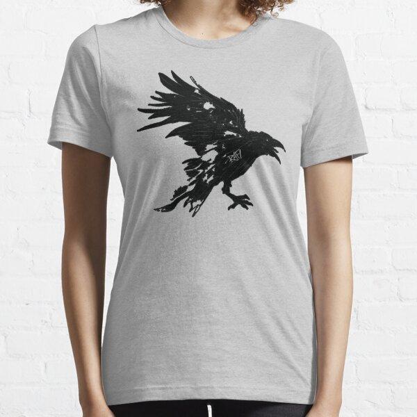 Nevermore Black Raven By Rafi Perez Essential T-Shirt