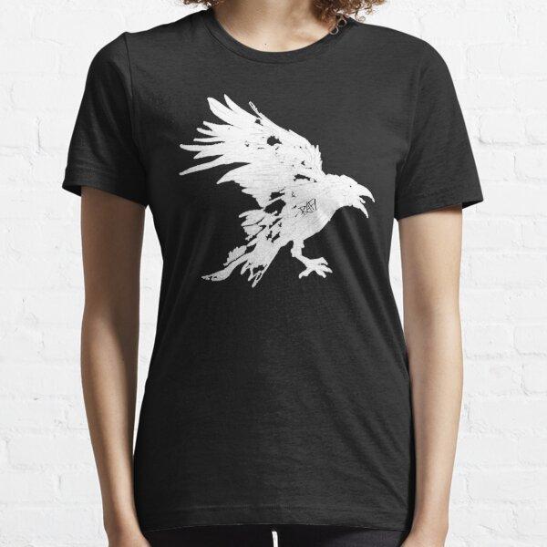 Nevermore White Raven By Rafi Perez Essential T-Shirt