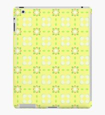 yellow pattern apples seamless colorful repeat iPad Case/Skin
