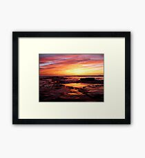 """Water Color Mood"" Framed Print"