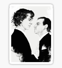 Sherlock and Jim Moriarty Sticker