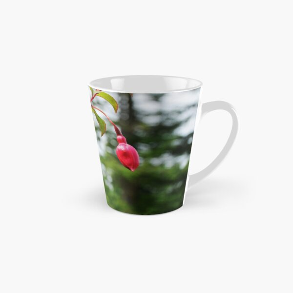 Red and Purple Fuchsia Tall Mug