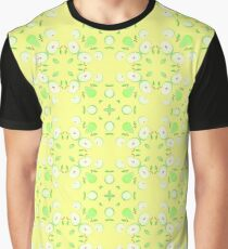 pattern vector yellow seamless colorful repeat Graphic T-Shirt