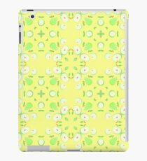 pattern vector yellow seamless colorful repeat iPad Case/Skin