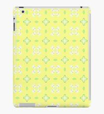 yellow green fruit seamless colorful repeat pattern iPad Case/Skin