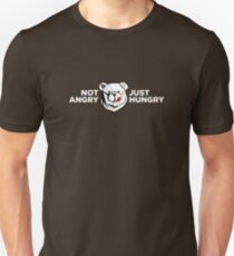 ROBUST BEAR HUNGRY LONG Unisex T-Shirt