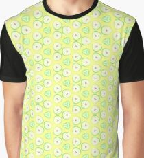 vector green yellow apples seamless colorful repeat pattern Graphic T-Shirt