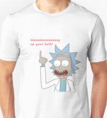 Rick and Morty - Waaaaaaaay Up Your Butt T-Shirt