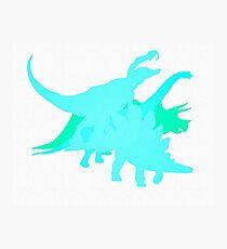 Dino World Photographic Print