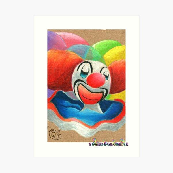 Bozo The Clown  Art Print