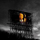 Trump Billboard Outside Blue Wave City .3 by Alex Preiss