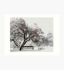 Winterscape Art Print
