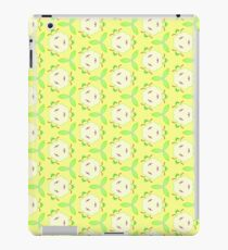 green apple vector texture seamless colorful repeat pattern iPad Case/Skin