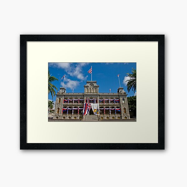 `Iolani Palace Framed Art Print