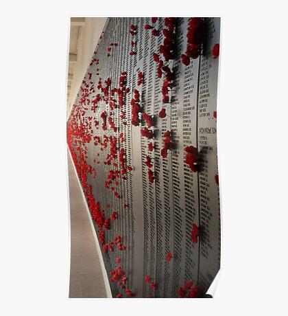 The Fallen - ANZAC's - Canberra - Australia Poster