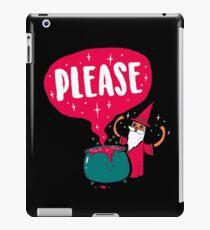 The Magic Word iPad Case/Skin