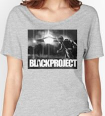 BLACK PROJECT 'ENCOUNTER'  Women's Relaxed Fit T-Shirt