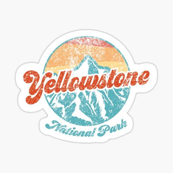 Yellowstone National Park Sticker Sticker