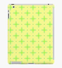 vector apple texture green seamless colorful repeat pattern iPad Case/Skin