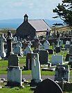 St Tudnos, Llandudno, Wales by Yampimon