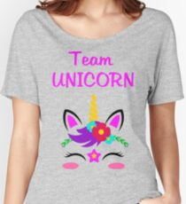 Team Unicorn Women's Relaxed Fit T-Shirt