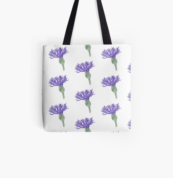 Corn flower All Over Print Tote Bag