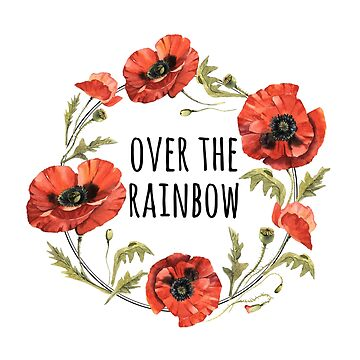 Poppies Over the Rainbow by MissClaraBow
