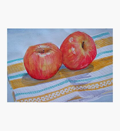 An apple a day... How about 2 a day? Photographic Print