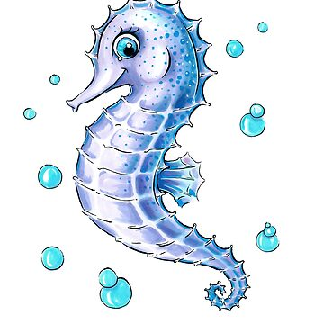 Adorable Sea Horse by obillwon