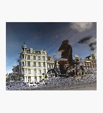Reflections of Amsterdam - Leaving me behind Photographic Print