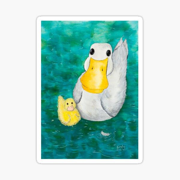 Swimming Ducks Did you bring bread? Sticker