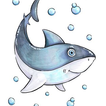 Adorable Shark by obillwon