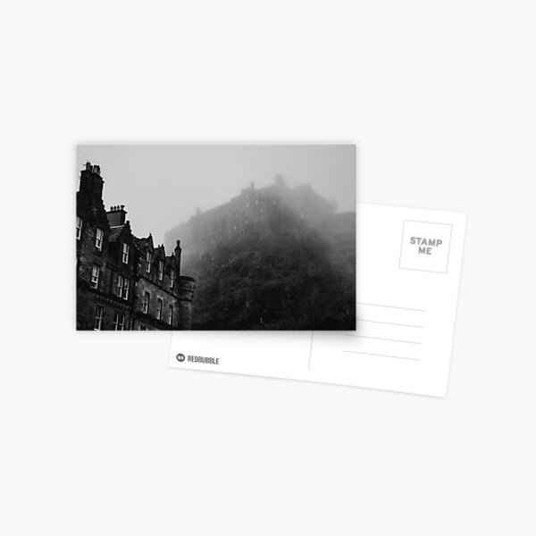 Under the Foggy Castle Postcard