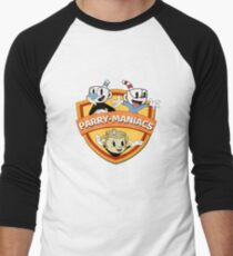Parry-Maniacs feat. Cupheads Men's Baseball ¾ T-Shirt