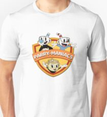 Parry-Maniacs feat. Cupheads Unisex T-Shirt