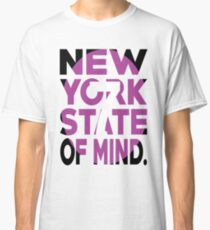 7 Train New York State of Mind New York Raised Me Classic T-Shirt