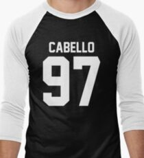 #FIFTHHARMONY, Camila Cabello Men's Baseball ¾ T-Shirt