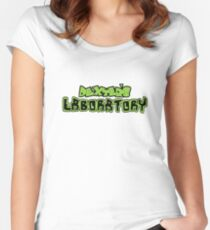 Dexter's Laboratory Women's Fitted Scoop T-Shirt