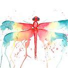Rainbow Dragonfly by MonicaBurnette