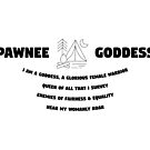 «Parks & Rec Pawnee Goddesses» de rb12345
