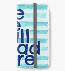 We Are All Mad Here iPhone Wallet/Case/Skin