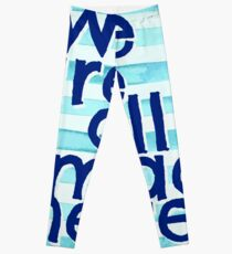 We Are All Mad Here Leggings