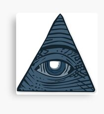 Illuminati Sticker! Canvas Print
