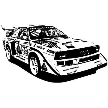 Audi Group B replica (transparent) by Holneub