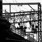 Melbourne rail by Geoff White