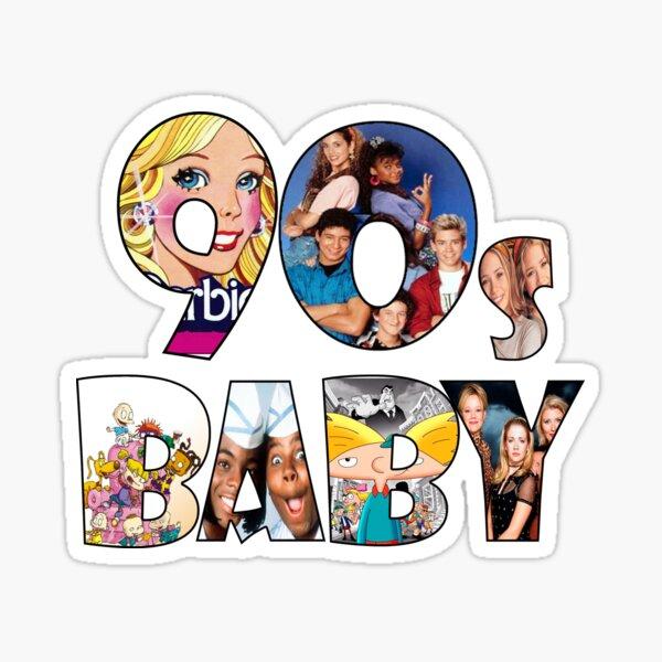 I'm a 90s Baby! Sticker