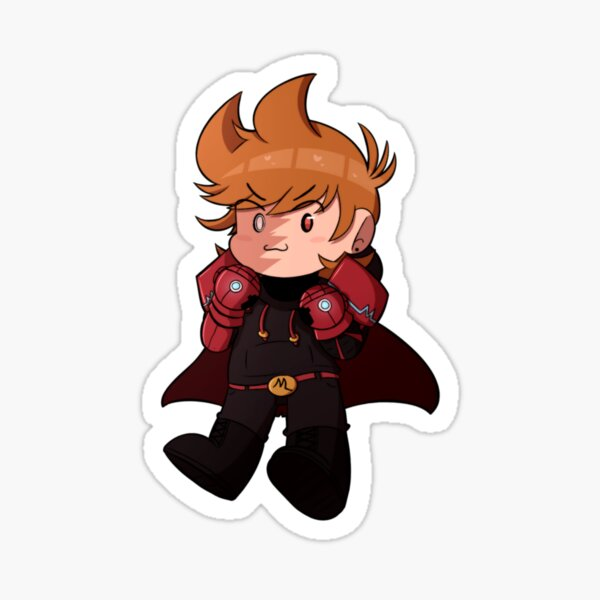 red leader! (without helmet) Sticker